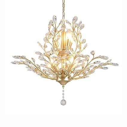 Best wishes shop araña de luces- Lámparas de cristal arañas retro creativas americanas para la