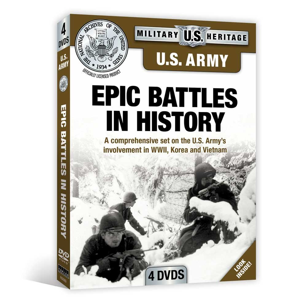 U.S. Army: Epic Battles in History (National Archives)