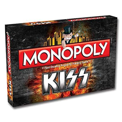 Monopoly Kiss Property Trading Board Game Gene Simmons And Paul