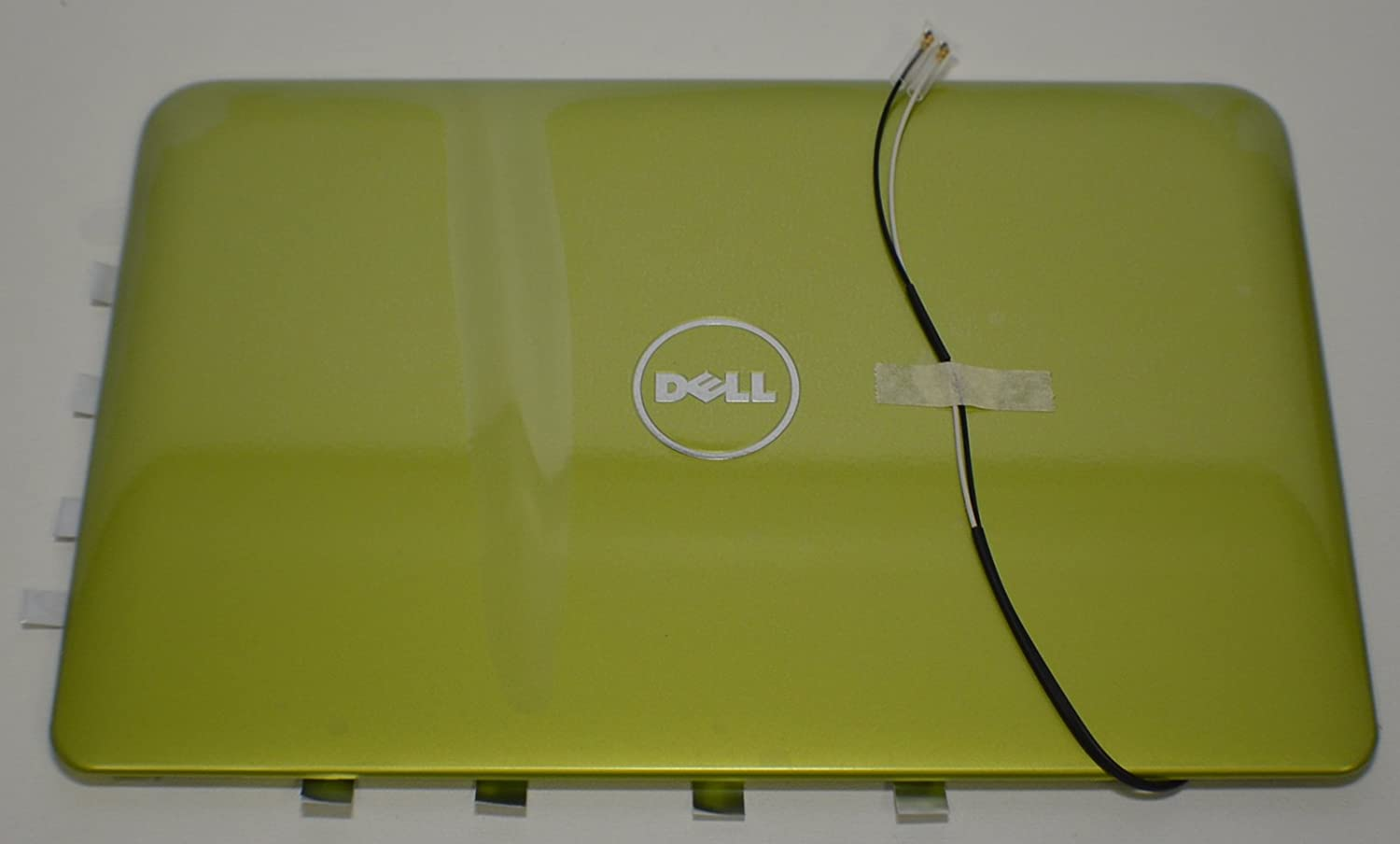 New Dell Inspiron Mini 10 1012 LCD Screen Top Lid Rear Back Cover Monitor Panel Green RW33X Antenna Cable Wire Inspirion Insprion Case Enclosure Housing Casing