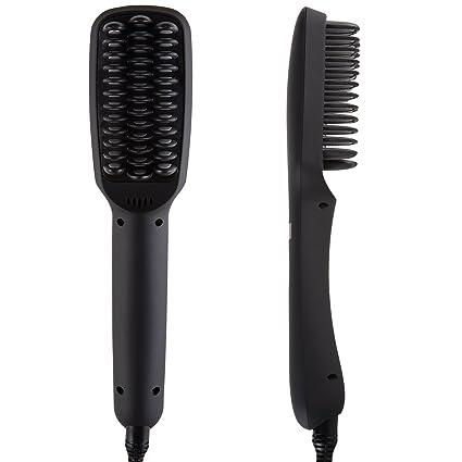 NiceTime cepillo de pelo cabello, 2 en 1 Alisador de cabello iónico, anión instantánea
