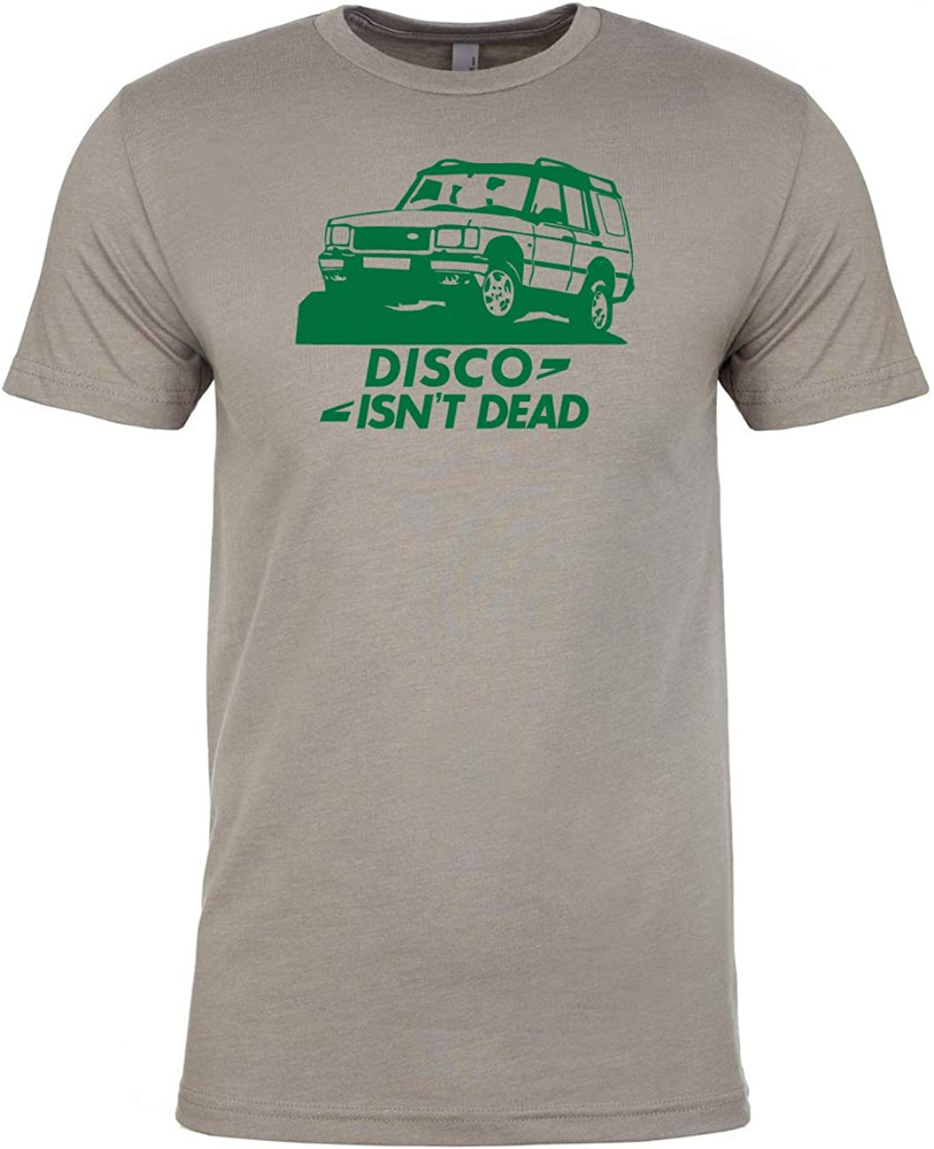 Disco 4x4 Offroad Luso Disco Isnt Dead 4x4 T-Shirt /& Sticker