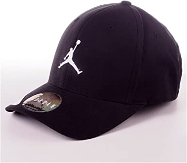 Gorra Nike – Jordan Flex Fit Negro/Blanco L/XL: Amazon.es ...