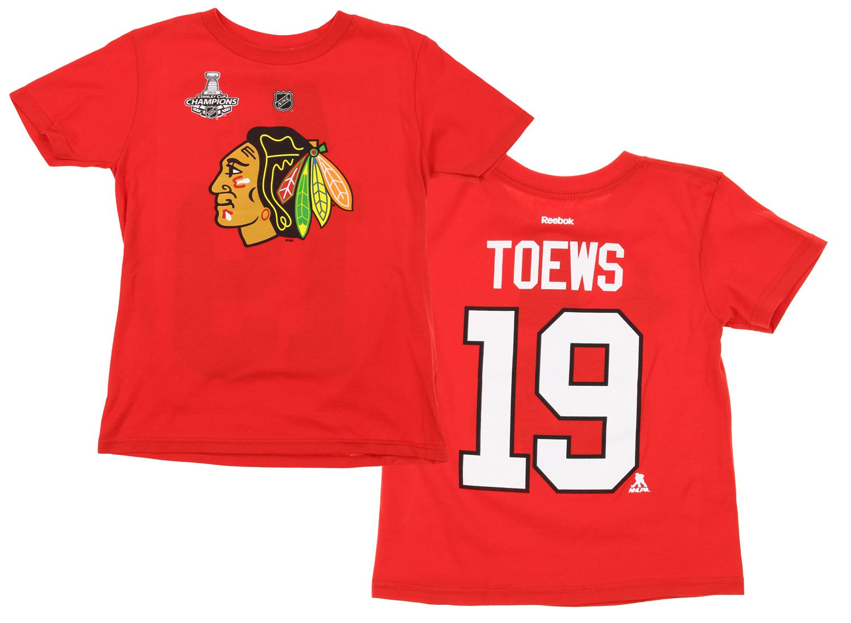 店舗良い NHL Little Boysキッズ( 4 – 7 ) (5/6) Chicago 4 19 Blackhawks Jonathan Toews # 19 Player T、レッド Medium (5/6) B01LZH45PT, あいあいメガネ:1b644a95 --- a0267596.xsph.ru