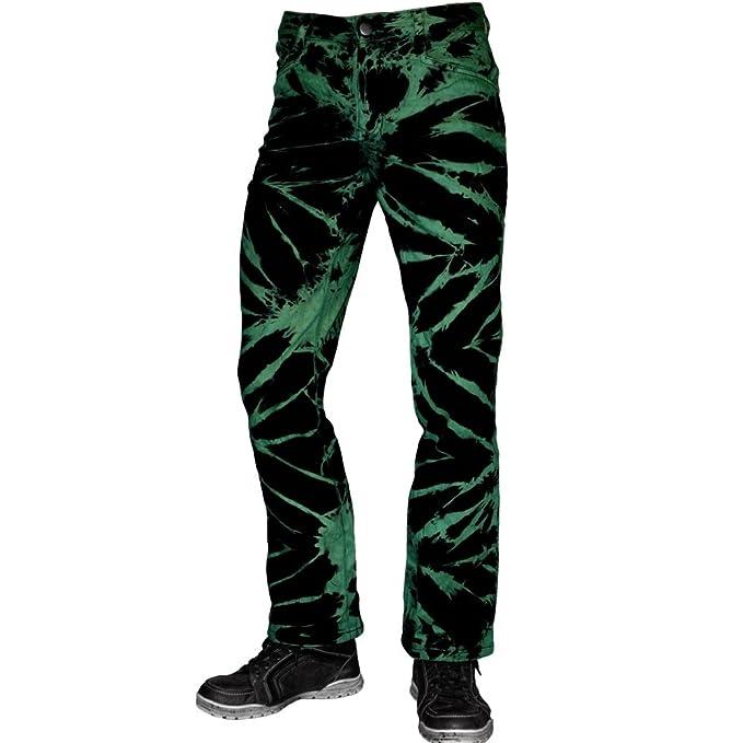 Nix Gut - Pure Style Jeans blanqueado verde U7AGy4efxF