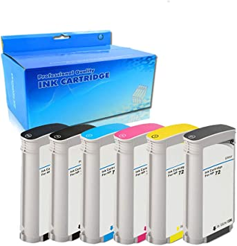 Remanufactured Replacement Ink Cartridge for HP C9370A HP 72 HY Photo Black