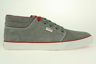 4542d117b91c ... cheap converse silo mid sneaker skate leder gr. 425 us 9 grau 694ef  6b190