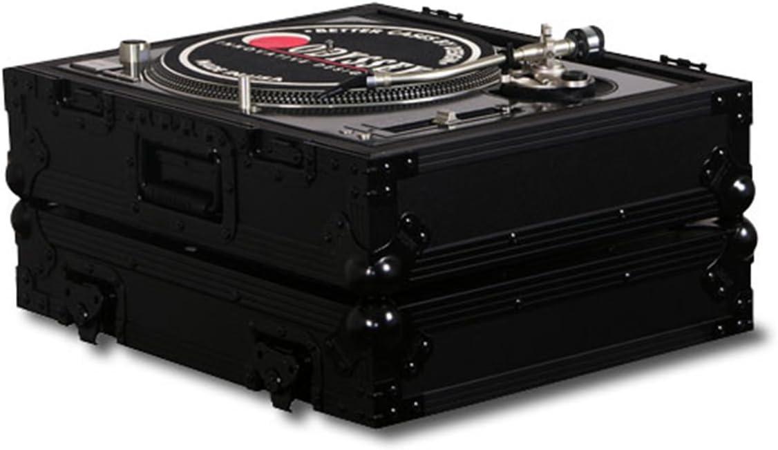 2x Pioneer PLX-1000 Black Label Cases Glide Style Case Xone:43