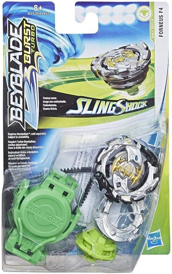 Beyblade - Turbo Achilles A4 Burst Turbo Slingshock (E6167EL2 ...