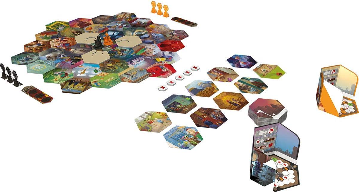 Asmodee lib0008 Shadows de Amsterdam, de tablero , color/modelo surtido: Amazon.es: Juguetes y juegos
