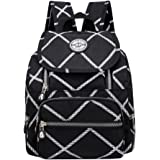 86b07745e19e Casual Mini Waterproof Nylon Backpack Purse for Women Girl Small  Lightweight Daypack