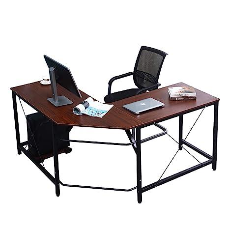 Soges L Form Eckschreibtisch Computertisch Winkelschreibtisch 150 Cm 150 Cm Grosser Gaming Schreibtisch Burotisch Ecktisch Arbeitstisch Pc Laptop