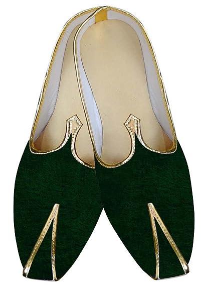 INMONARCH Mocasines de Boda Hombres de Terciopelo Verde para el Novio MJ013015: INMONARCH: Amazon.es: Zapatos y complementos