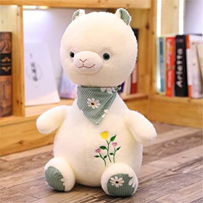 SXPC Cute Plush Soft Alpaca Pillow Doll Children's Gift Plush Toys: Sports & Outdoors