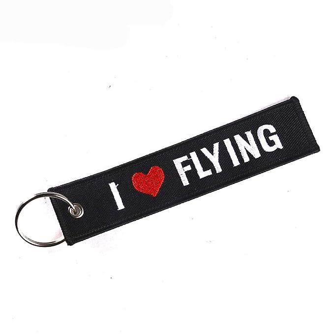 Amazon.com: Keychain - Gifts Flying Keyring Key Holder ...