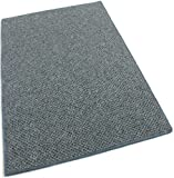 """Koeckritz 3'X3′ SQUARE – Shale Gray – Indoor-Outdoor Graphic Loop 1/8"""" Thick 20 oz Area Rug Carpet Review"""