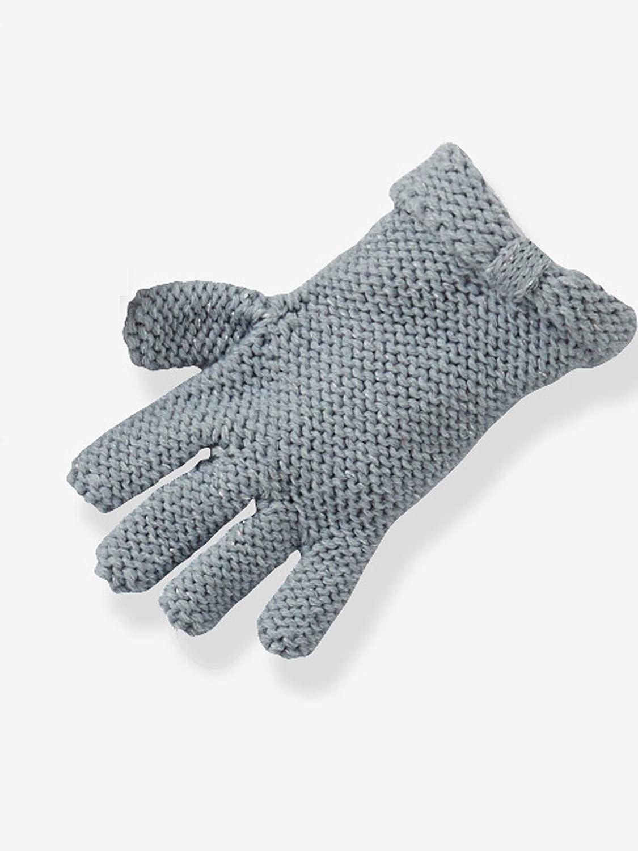 Vertbaudet Schal M/ütze und Handschuhe f/ür M/ädchen