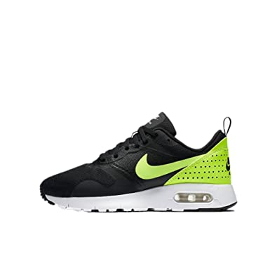 c0aea204393f Image Unavailable. Image not available for. Color  Nike Kids Air Max Tavas  GS Big Kid Black White Volt Boys Shoes