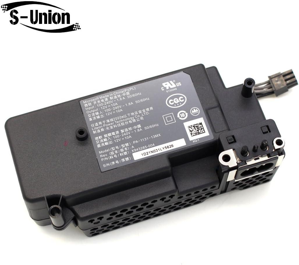 S-Union PA-1131-13MX - Adaptador de Corriente para Xbox One S (Delgado): Amazon.es: Informática