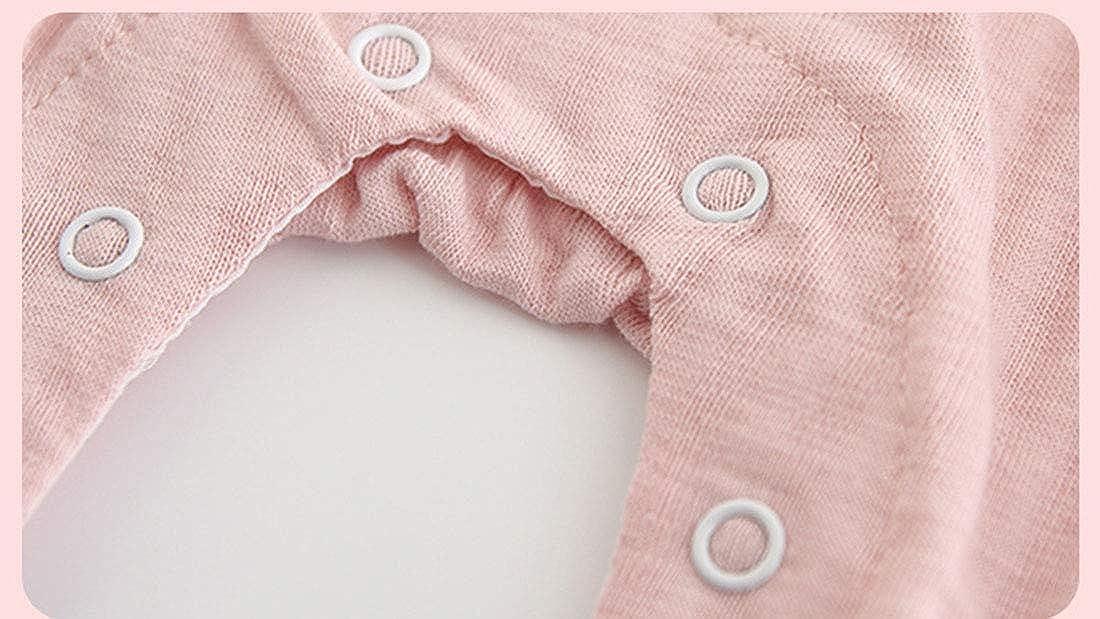 MAOMAHREWW Toddler Girls Autumn Romper Cotton Contrast Color Bow-Knot Jumpsuit Bodysuit