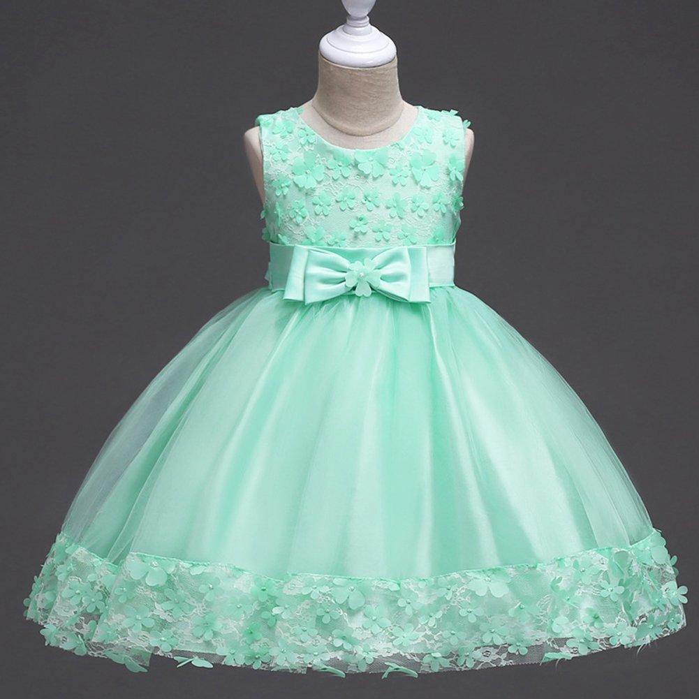 Flower Girl Princess Tutu Dress for Baby Kids Birthday Formal Party Christening