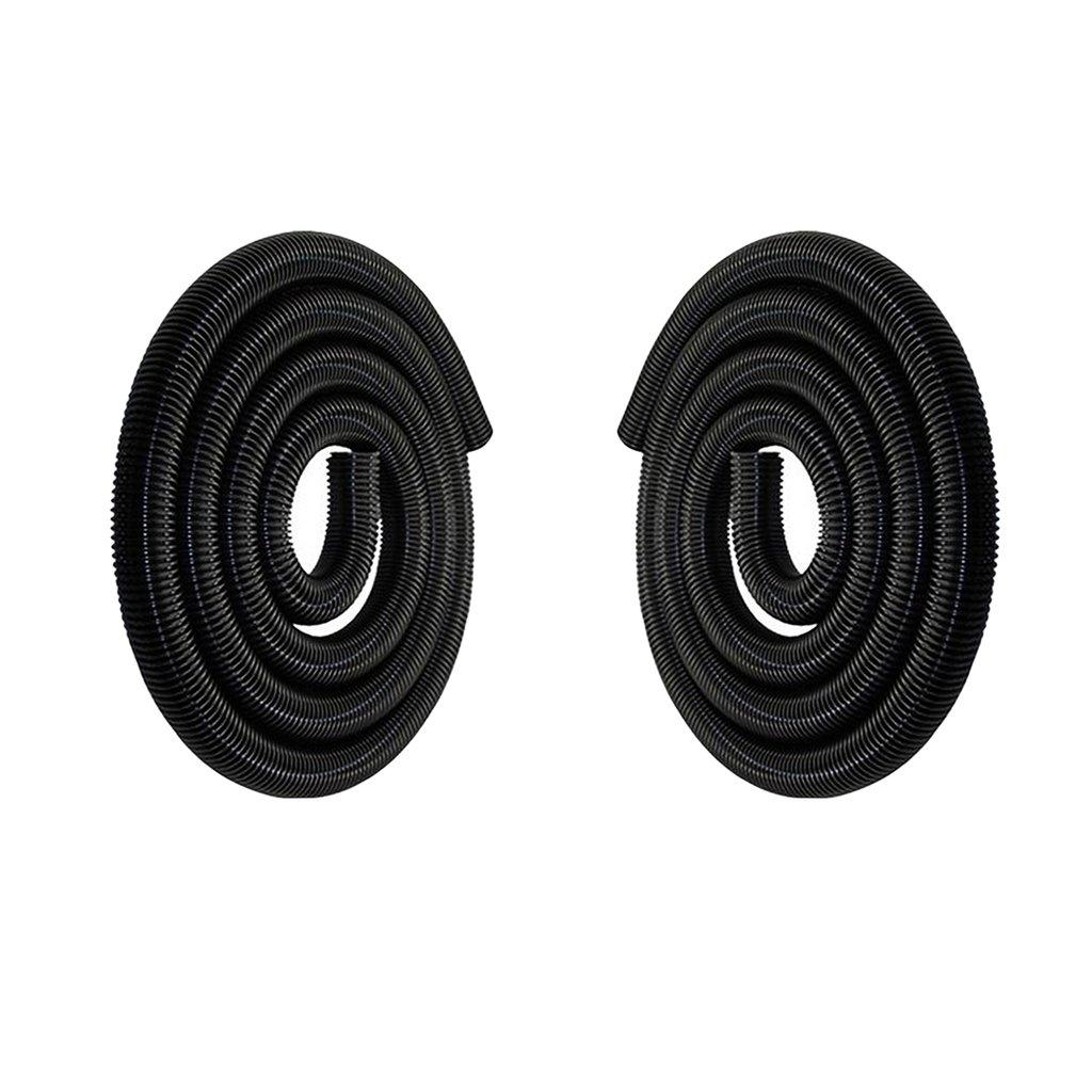 P PRETTYIA 2 Pezzi 1M Aspirapolvere Industriale Accessori Tubo Pompa Filettato 50mm