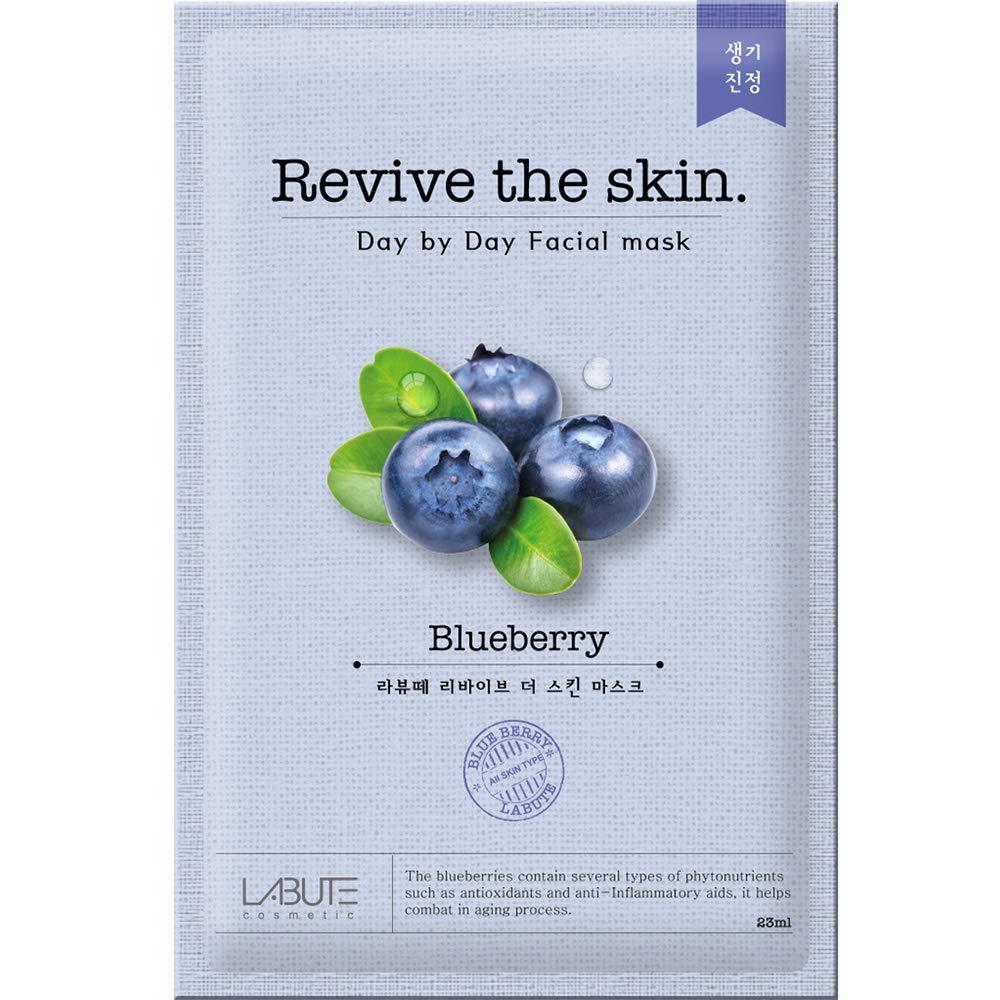 LABUTE Revive The Skin Mask Sheet (Blueberry mask sheet (10EA))