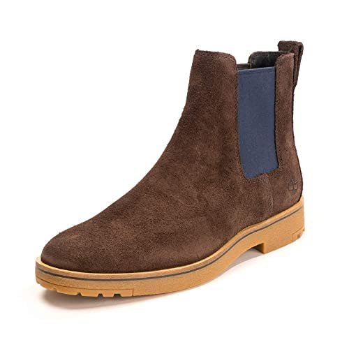 llamar claramente bordillo  Timberland Folk Gentleman Chelsea Dark Chocolate 9: Amazon.in: Shoes &  Handbags