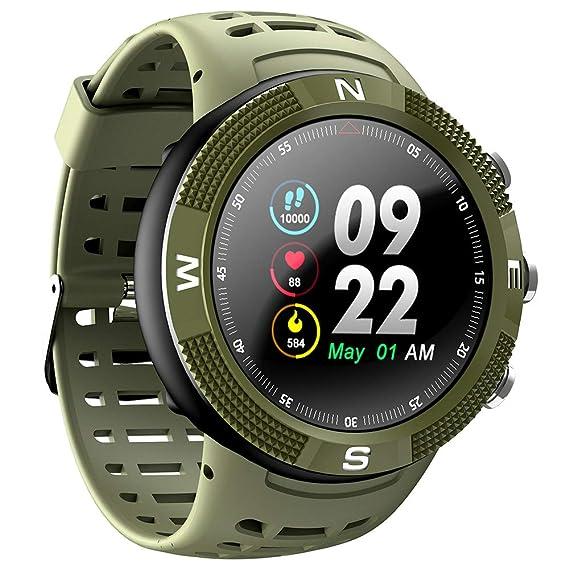 Amazon.com: BOND F18 GPS Smartwatch IP68 Waterproof Smart ...
