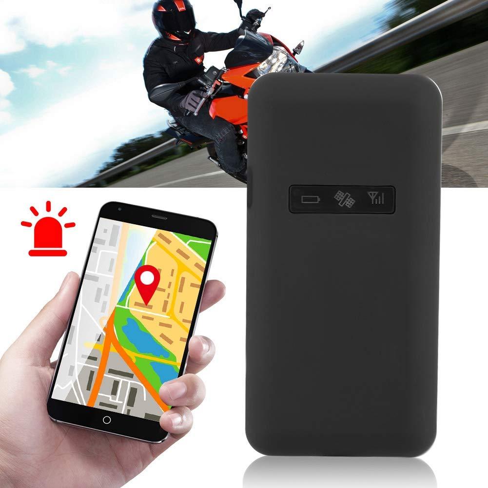 Hlyjoon GPS Locator Tracker Portable GT02 Mini Voiture Moto Antivol S/écurit/é Syst/ème Dalarme GSM Dispositif de Suivi en Temps R/éel pour Voitures V/éhicules Enfants Conjoints Personnes Ag/ées A/în/és