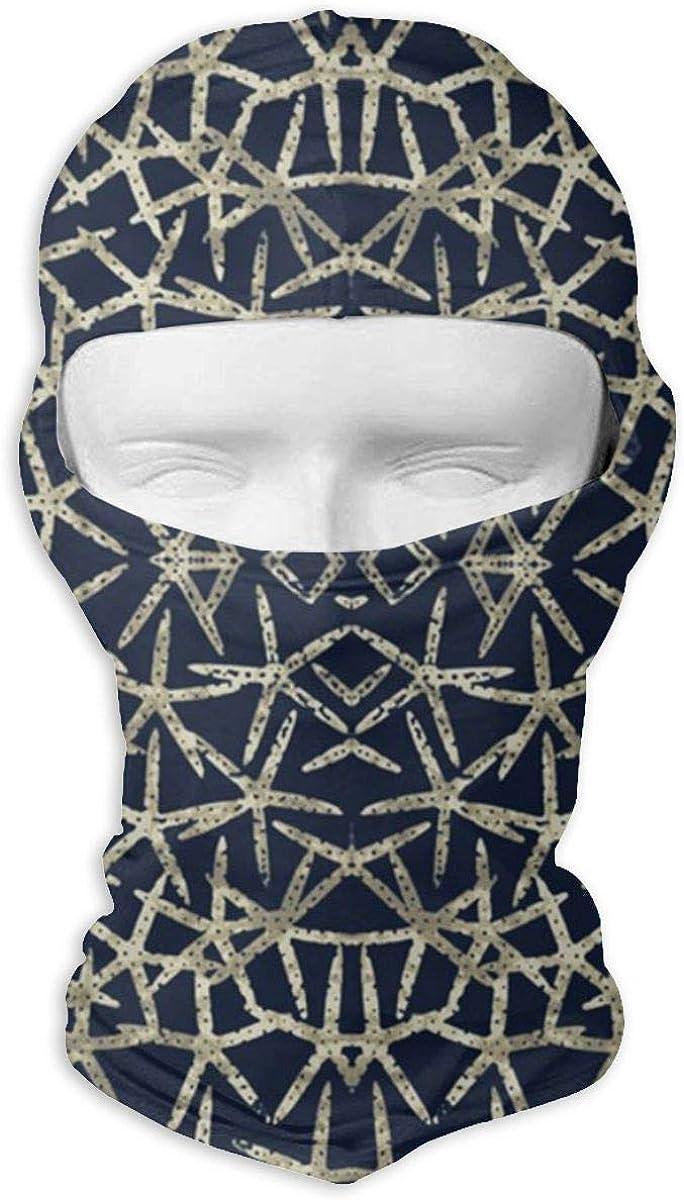 CAClifestyle Starfish Indigo Unisex Windproof Balaclavas Full Face Mask Hood