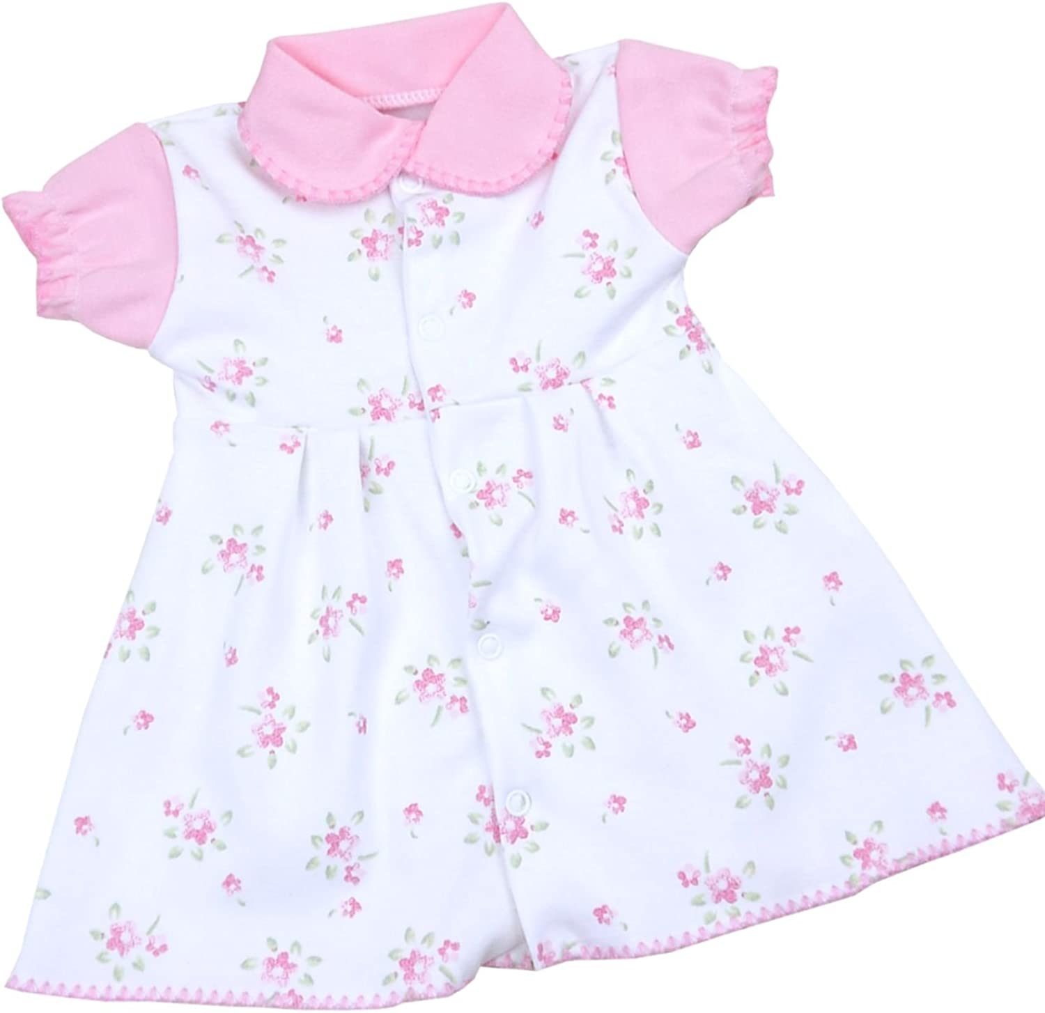 Baby Girls Reborn Doll Dress Built in bodysuit From 3lbs up to 7Lbs Four Styles