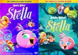 Angry Birds Stella Cartoon DVD Bundle - Angry Birds Stella (The Complete First Season) & Angry Birds Stella (The Complete Second Season)