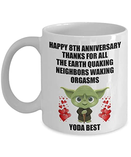 Image Unavailable. Image not available for. Color: 8 Year 8th Wedding Anniversary Gifts For Men ...