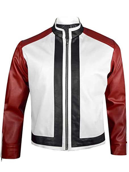Amazon.com: King of Fighters 14 Game Rock Howard - Chaqueta ...