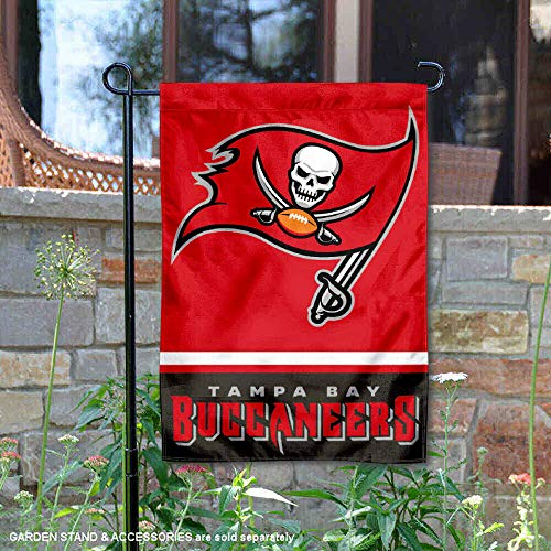 (WinCraft Tampa Bay Buccaneers Double Sided Garden Flag)