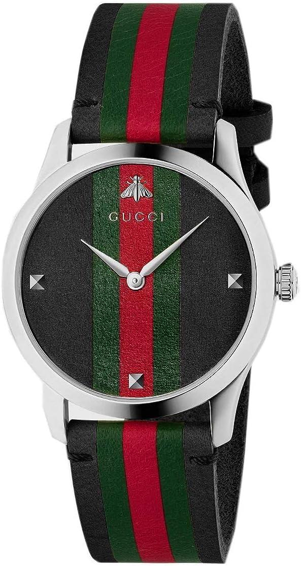 Reloj Gucci YA1264079 Negro Acero 316 L Unisex