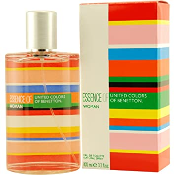 Essence of Benetton for Women By Benetton Eau-de-toilette Spray, 3.4-