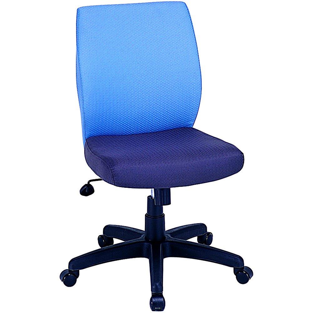 ナカバヤシ オフィスチェア デスクチェア 椅子 ブルー RZC-603BL B0036ZZ358 Parent ブルー
