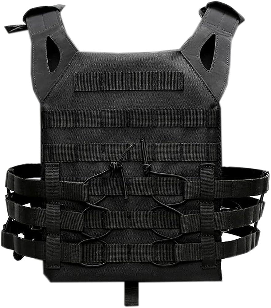 Sistema Modular Chaleco Táctico Militar Airsoft Correas Paintball Seguridad Negr