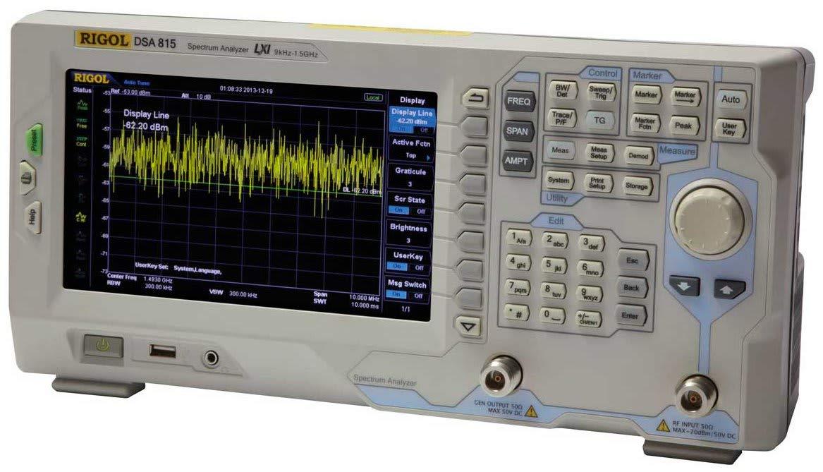 Rigol DSA815 Spectrum Analyzer (no tracking generator)
