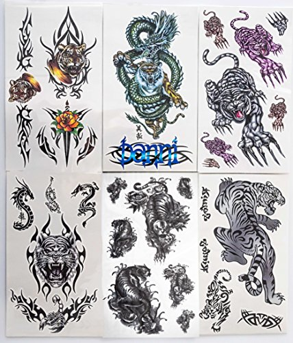 Black (Pirate Print Nails)