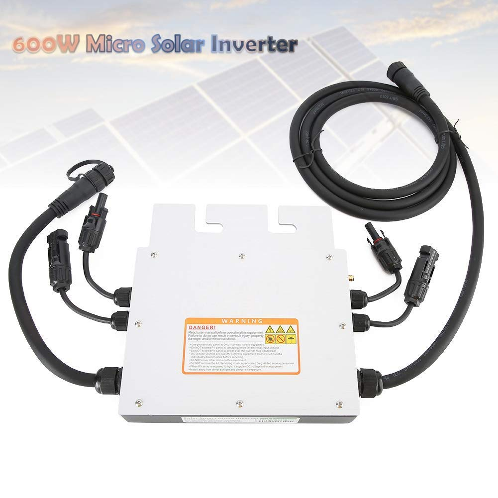voltage protection frequency protection 600W Solar Inverter,120V 230V Micro Solar Inverter,Waterproof Grid Inverter Solar Inverter,with protection function
