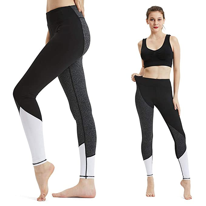 82c1a2b120ce9a Image Unavailable. Image not available for. Color: Modoker High Waist Yoga  Pants, Mesh Workout Leggings ...