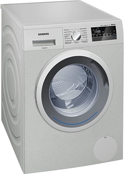 Siemens iQ500 WM12T49XES Independiente Carga frontal 8kg 1200RPM A ...