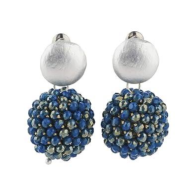 c89965782d1c LuckyLy – Aretes de Moda para Mujer– Aretes Mujer Isabelle – Piedras  Brillantes tipo Swarovski