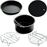 Air Fryer Accessories for Gowise Phillips and Cozyna,Air Fryer Accessories Set Fit all 3.7QT,5.3QT,5.8QT