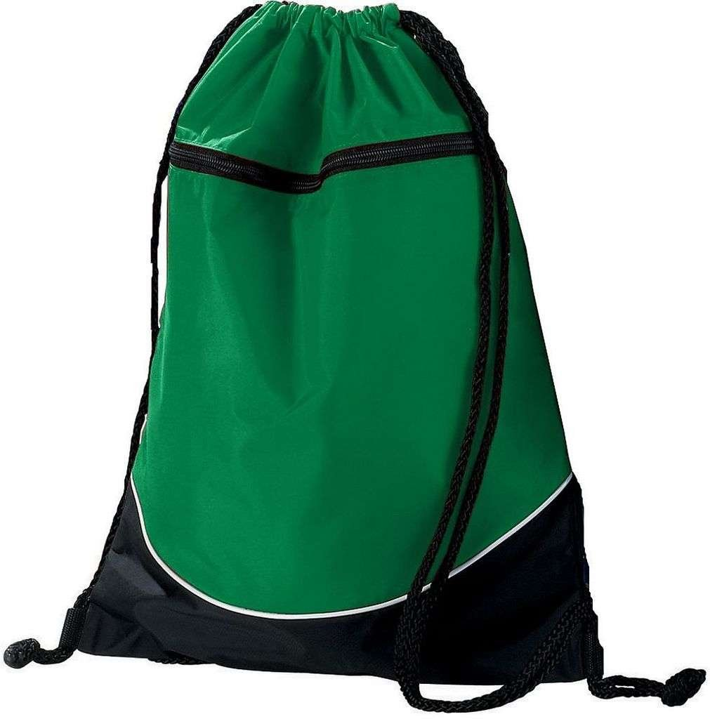 Augusta Sportswear Tri Farbe Drawstring Backpack Backpack Backpack Os Kelly schwarz Weiß B004ORPGW2     | Deutschland Shops