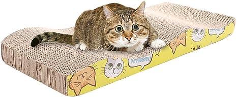 Happyshop18 Rascadores para Gatos, Juguete rascador de cartón ...