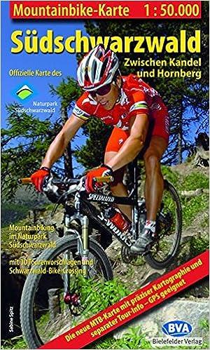 Südschwarzwald Karte.Mountainbike Karte Bva Südschwarzwald Zwischen Kandel Und Hornberg 1